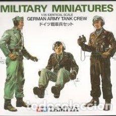 Maquetas: TAMIYA - GERMAN ARMY TANK CREW 1/35 35001. Lote 162090850