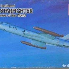 Maquetas: MAQUETA DEL CAZA SUPERSÓNICO LOCKHEED F-104G STARFIGHTER DE MINICRAFT (ACADEMY) A 1/144. Lote 162637314