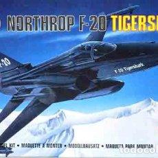 Maquetas: MAQUETA DEL CAZA NORTEAMERICANO NORTHROP F-20 TIGERSHARK DE AIRFIX A 1/144. Lote 162637546