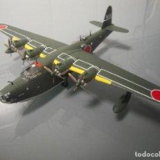 Maquetas: KAWANISHI H8K2 HIDROAVIÓN 1/144 ALTAYA SERIE AVIONES BOMBARDEROS 2ª GM. Lote 162638810