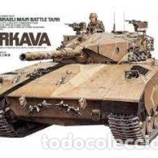 Maquetas: TAMIYA - MERKAVA ISRRAELI MAIN BATTLE TANK 35127 1/35. Lote 162776250