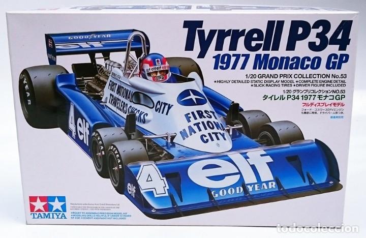 TAMIYA TYRRELL P34 GP MÓNACO 1977 (Juguetes - Modelismo y Radiocontrol - Maquetas - Coches y Motos)