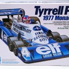 Maquetas: TAMIYA TYRRELL P34 GP MÓNACO 1977. Lote 115003611