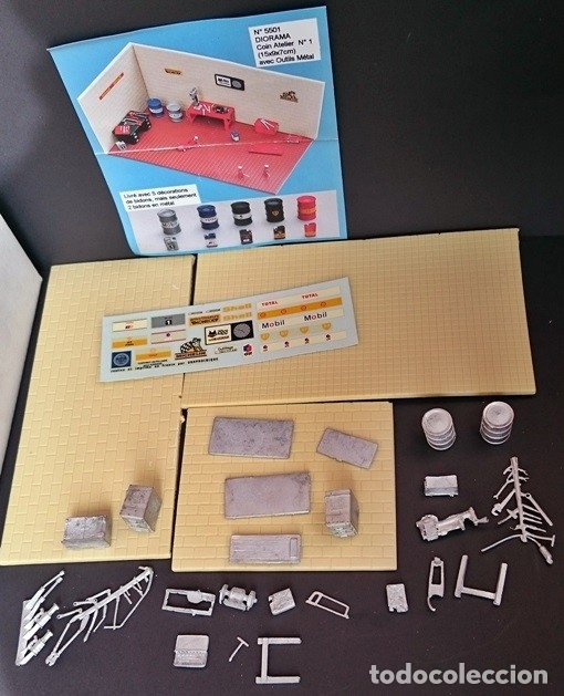 Maquetas: MINI RACING KIT DIORAMA TALLER Nº 1 - Foto 1 - 93622975