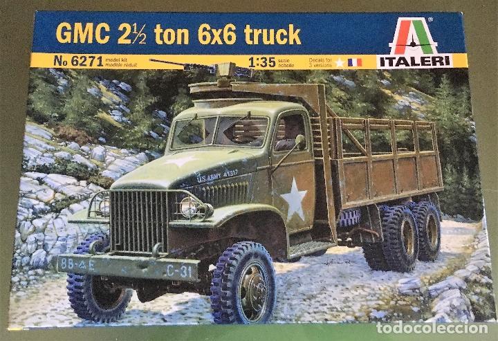 MAQUETA ITALERY 1/35 - GMC 2 1/2 TON 6X6 TRUCK - REF. 6602 (Juguetes - Modelismo y Radiocontrol - Maquetas - Militar)