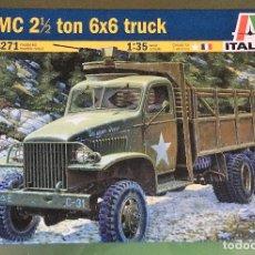 Maquetas: MAQUETA ITALERY 1/35 - GMC 2 1/2 TON 6X6 TRUCK - REF. 6602. Lote 163047230