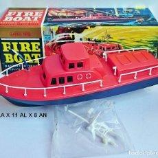 Maquetas: EMBARCACIÓN BOMBEROS - FIRE BOAT - LAURIE TOYS. Lote 101650027