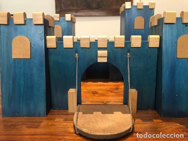 Maquetas: Castillo medieval de madera 50 cm x 50cm . Modulos combinables - Foto 3 - 163387726