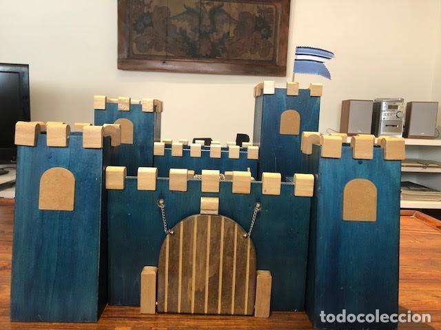 Maquetas: Castillo medieval de madera 50 cm x 50cm . Modulos combinables - Foto 2 - 163387726
