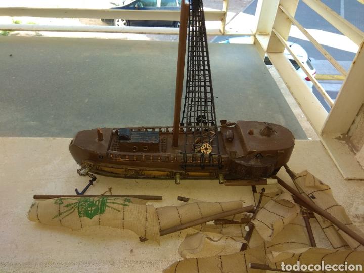 BARCO - GALEÓN DE MADERA - LEER DESCRIPCIÓN - (Juguetes - Modelismo y Radiocontrol - Maquetas - Barcos)