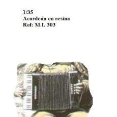 Maquetas: WWII ACORDEON RESINA 1/35 ACCESORIOS DIORAMA. Lote 163540130