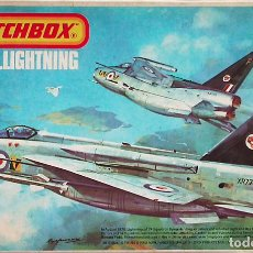 Maquetas: MATCHBOX 1/72 BAC LIGHTNING F.2A / F.6 - 1975 #PK-114. Lote 164782810