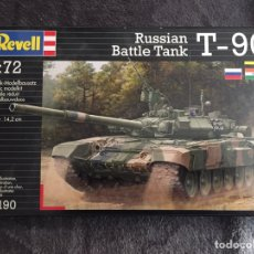 Maquetas: RUSSIAN T-90 K/S 1:72 REVELL 03190 MAQUETA CARRO TANQUE. Lote 164920562