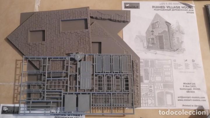 Maquetas: Lote 5 casas de miniart 1/35 para dioramas - Foto 2 - 165099682
