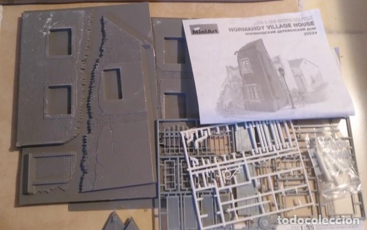 Maquetas: Lote 5 casas de miniart 1/35 para dioramas - Foto 3 - 165099682
