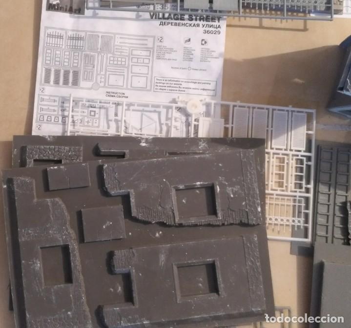 Maquetas: Lote 5 casas de miniart 1/35 para dioramas - Foto 4 - 165099682