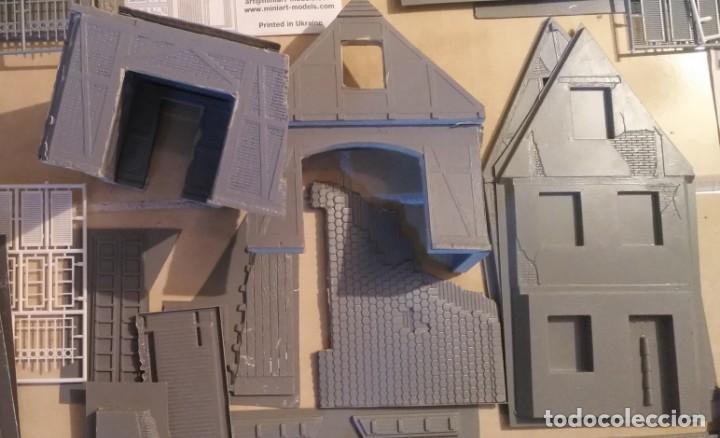 Maquetas: Lote 5 casas de miniart 1/35 para dioramas - Foto 5 - 165099682