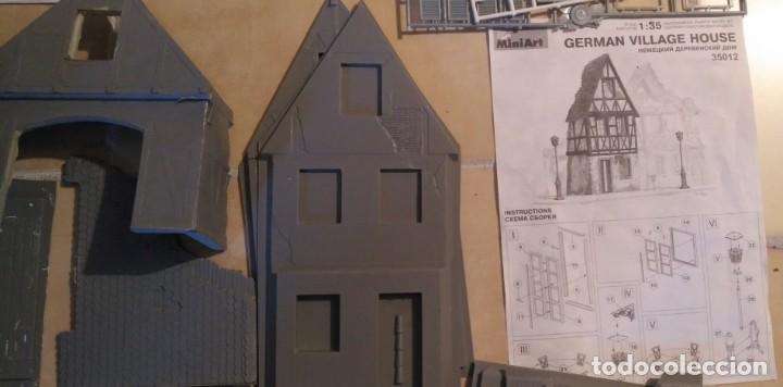 Maquetas: Lote 5 casas de miniart 1/35 para dioramas - Foto 6 - 165099682