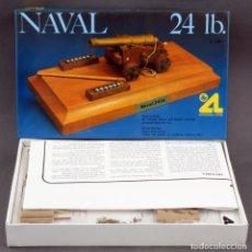 Maquettes: CAÑÓN NAVAL 24 LB ARTESANÍA LATINA MAQUETA NUEVA EN CAJA SIN MONTAR. Lote 165348606