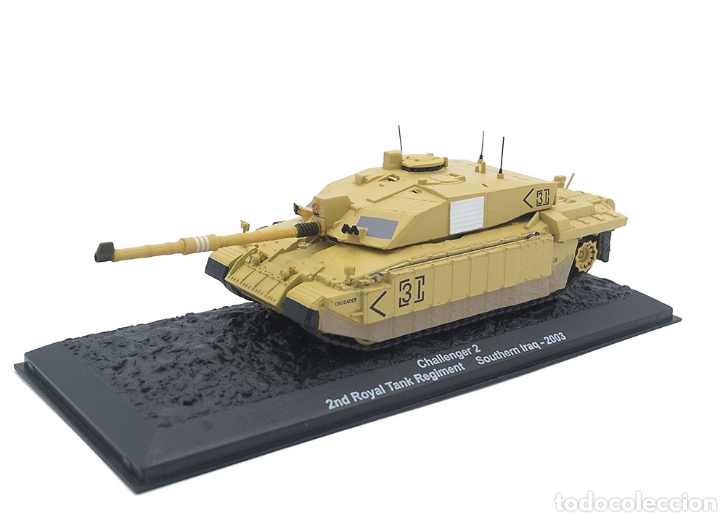 Maquetas: Challenger 2, 2nd Royal Tank Regiment, Sur de Irak, 2003, 1:72 - Foto 1 - 165641662