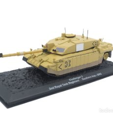 Maquetas: CHALLENGER 2, 2ND ROYAL TANK REGIMENT, SUR DE IRAK, 2003, 1:72. Lote 165641662