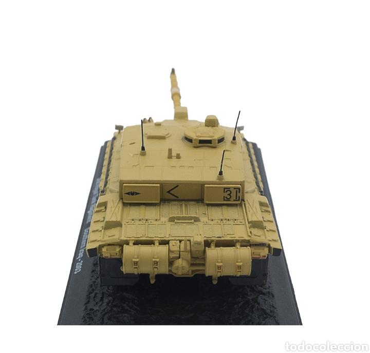 Maquetas: Challenger 2, 2nd Royal Tank Regiment, Sur de Irak, 2003, 1:72 - Foto 4 - 165641662