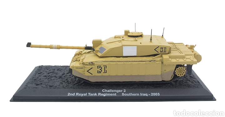 Maquetas: Challenger 2, 2nd Royal Tank Regiment, Sur de Irak, 2003, 1:72 - Foto 5 - 165641662