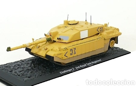 Maquetas: Challenger 2, 2nd Royal Tank Regiment, Sur de Irak, 2003, 1:72 - Foto 7 - 165641662