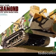 Maquetas: MAQUETA 1/35 - FRENCH HEAVY TANK ST. CHAMOND EARLY TYPE/ IRON MASK MAN TAKOM - NR. 2002 - 1:35. Lote 165738686