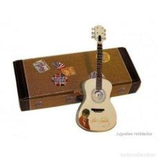 Maquetas: ELVIS PRESLEY GUITARRA MINIATURA 13 CMS ROCK AND ROLL ATLAS EDITIONS. Lote 165920977