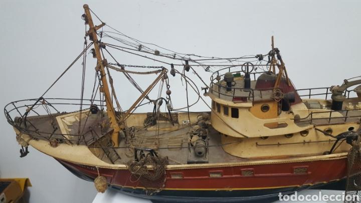 Maquetas: Maqueta barco pesquero. - Foto 3 - 166056729