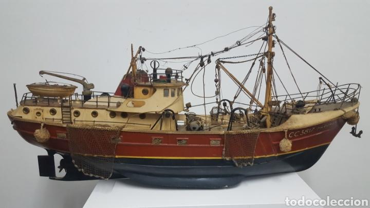 Maquetas: Maqueta barco pesquero. - Foto 7 - 166056729