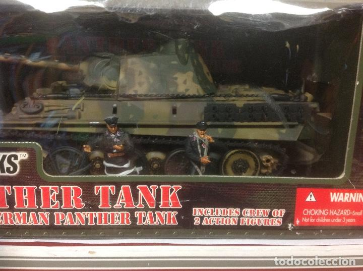 Maquetas: CAJA ULTIMATE SOLDIER GERMAN PANTHER TANK 1/32 LEER 21 century toys militar aleman 1/32 54 mm - Foto 2 - 184621218