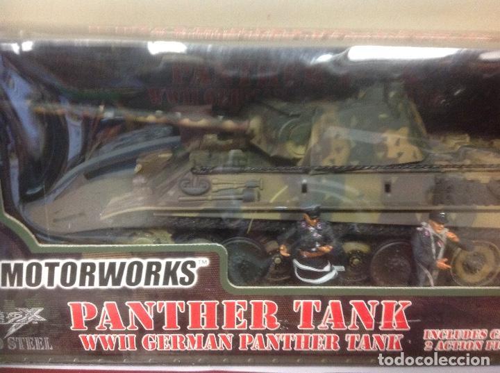 Maquetas: CAJA ULTIMATE SOLDIER GERMAN PANTHER TANK 1/32 LEER 21 century toys militar aleman 1/32 54 mm - Foto 3 - 184621218