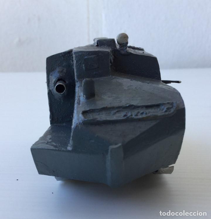 Maquetas: Tanque militar anfibio artesanal de hojalata - años 40 - Foto 6 - 166307342