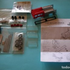 Maquetas: KIT FIRE BRIGADE MODELS ESCALA 1/48 FBM 19 SHELVOKE PUMP LONDON FIRE BRIGADE . KIT PINTADO. NUEVO. Lote 166404606