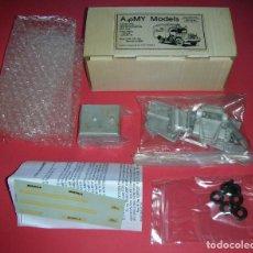 Maquetas: KIT ARMY MODELS HART MODELS NO3 BOMBEROS , DAF YA 126 BRANDWEER ESCALA 1/48 METAL . NUEVO. Lote 166413770