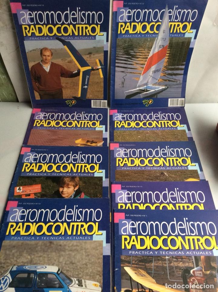 FASCICULOS AEROMODELISMO RADIOCONTROL, LOTE DE 9 EJEMPLARES -ED. NUEVA PRENSA (Juguetes - Modelismo y Radio Control - Maquetas - Aviones y Helicópteros)