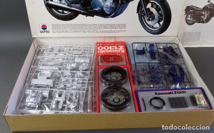Maquetas: Moto Kawasaki Z 1300 Nitto 1/8 maqueta nueva para montar Ref 743 - 3200 - Foto 2 - 166791942