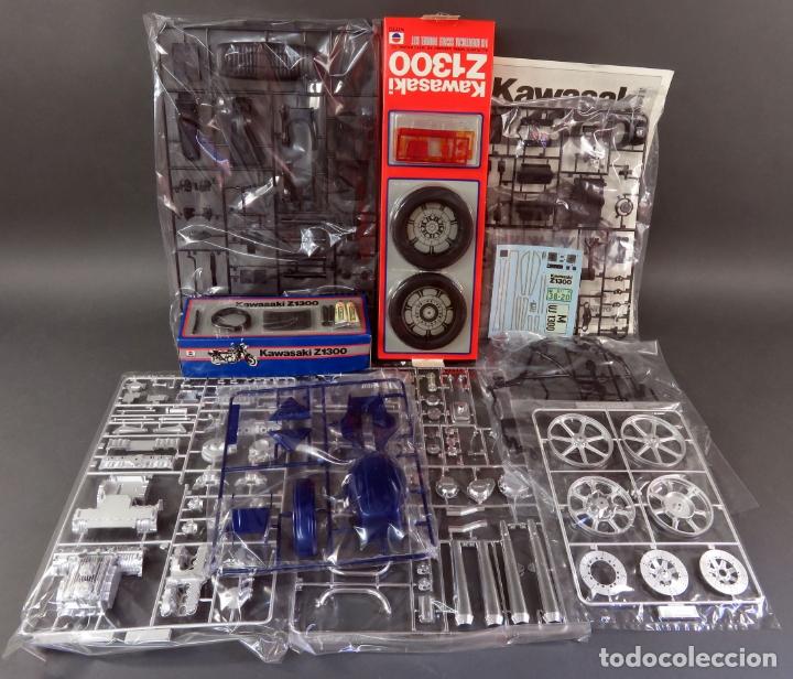 Maquetas: Moto Kawasaki Z 1300 Nitto 1/8 maqueta nueva para montar Ref 743 - 3200 - Foto 3 - 166791942