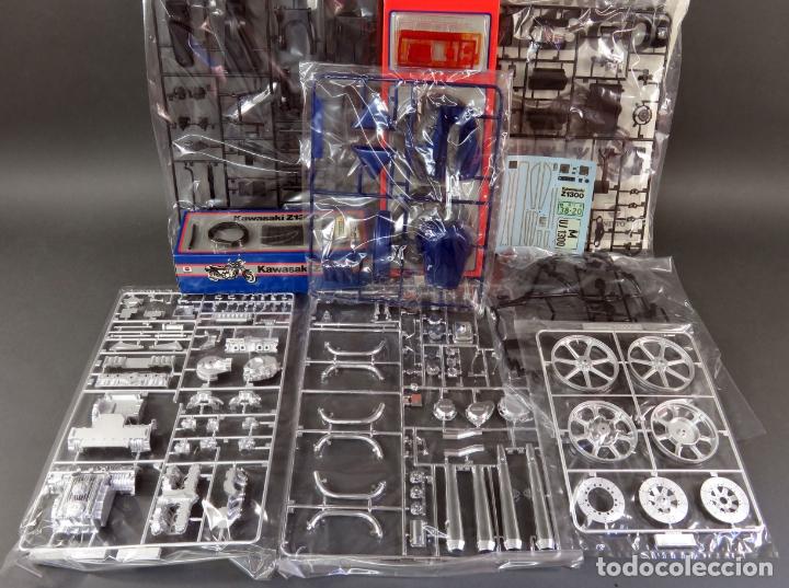 Maquetas: Moto Kawasaki Z 1300 Nitto 1/8 maqueta nueva para montar Ref 743 - 3200 - Foto 4 - 166791942