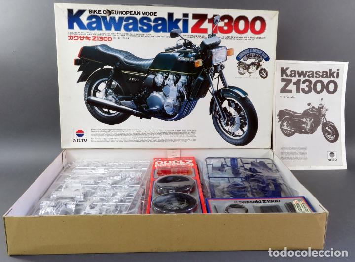 MOTO KAWASAKI Z 1300 NITTO 1/8 MAQUETA NUEVA PARA MONTAR REF 743 - 3200 (Juguetes - Modelismo y Radiocontrol - Maquetas - Coches y Motos)