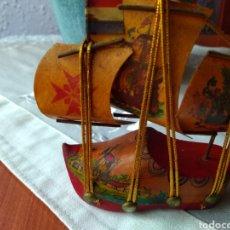 Maquetas: ANTIGUO ( BARCO ZUECO MINIATURA ). MÁS ARTÍCULOS ANTIGUOS EN MI PERFIL.. Lote 166834640