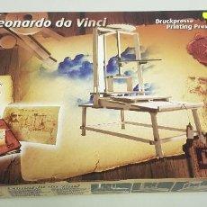 Maquetas: S9- LEONARDO DA VINCI PRINTING PRESS REVELL ESCALA 1/12 NUEVO ANTIGUO STOCK. Lote 167002844