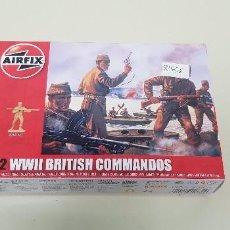 Maquetas: S9- WWII BRITISH COMMANDOS 1:72 AIRFIX NUEVO ANTIGUO STOCK. Lote 167396692