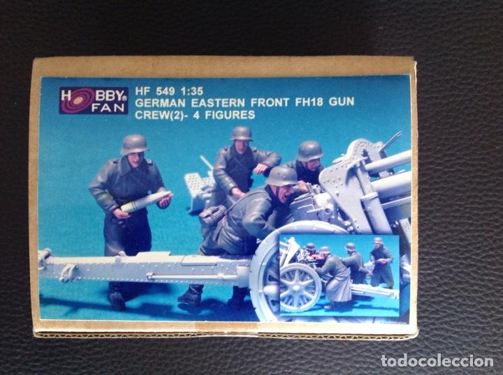 GERMAN EASTERN FRONT FH18 GUN CREW 1:35 HOBBY FAN HF 549 MAQUETA FIGURA DOTACIÓN CAÑON ALEMÁN DIORAM (Juguetes - Modelismo y Radiocontrol - Maquetas - Militar)