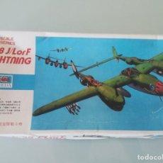 Maquetas: 1/72 P-38 J/LORF LIGHTINING XEIDA SIN ABRIR - NUEVA. Lote 167469272