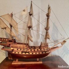 Maquetas - Maqueta barco en madera (Galeón San Mateo). - 167605268