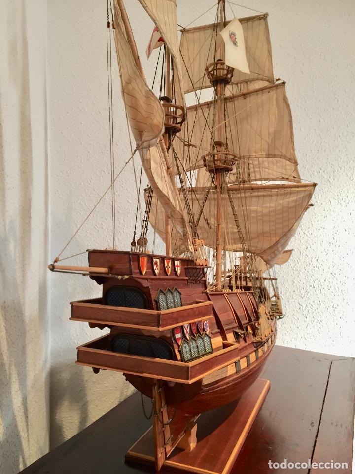 Maquetas: Maqueta barco en madera (Galeón San Mateo). - Foto 2 - 167605268