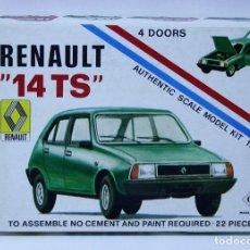 Maquetas: MAQUETA RENAULT 14 TS ESCALA 1/48 . Lote 167663664
